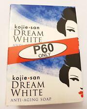 LOT OF 2 Kojie San Dream White Whitening/Anti-Aging Soap 2 65g Bars
