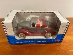 Santa 1937 Chevy Convertible  Bank Amoco Limited Edition 1993