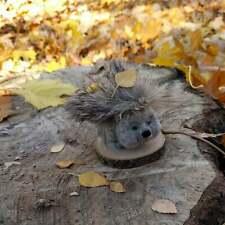 Needle felted Hedgehog Felt toy animal Hand made toy Felt sculpture wool