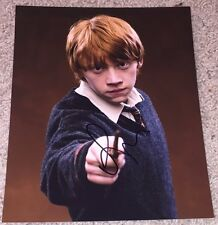 RUPERT GRINT SIGNED AUTOGRAPH HARRY POTTER RON WEASLEY 8x10 PHOTO w/EXACT PROOF