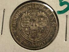 1900 - British - Shilling