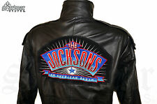 90s JACKSONS Movie Film Crew Screen Used Michael Jackson Tour Leather Jacket M L