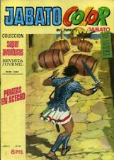 JABATO COLOR COMPLETA EDITORIAL BRUGUERA DESDE 1969 A 1974