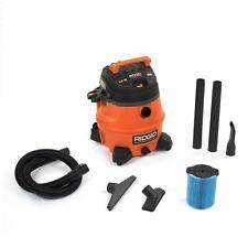 Ridgid Wet Dry Vac Vacuum Cleaner 14 Gal 6.0-Peak HP Blower Port Garage/Shop/Car