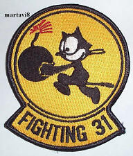 US.Navy `FIGHTING 31` Squadron Cloth Badge / Patch (S11)