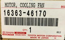 Toyota Kluger Cooling Fan Electric Motor