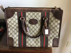 Vintage GUCCI Large Bag Purse Excellent