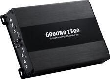 Ground Zero Iridium GZIA 4115HPX-II 4 Channel Amplifier 500W RMS FREE WIRING KIT