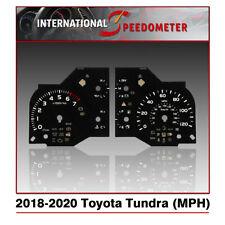 2018 - 2020 Toyota Tundra Speedometer Faceplate Mph - (50pcs)