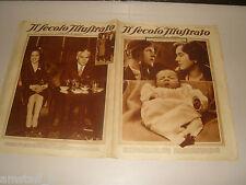 IL SECOLO ILLUSTRATO=1932/11=BABY LINDBERGH=CHARLIE CHAPLIN=PRIMO CARNERA=