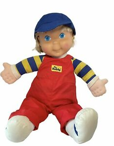 "Vintage Playskool My Buddy Boy Doll Blonde Hair Blue Eyes & Hat Hasbro 22"" Rare"