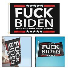 Fu*k~Biden Flag 3x5FT American US Donald Trump Funny Garden Home House Banner