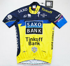Sportful Saxo Bank Tinkoff short sleeve jersey M Medium NEW WITH TAGS