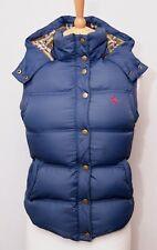 Jack Wills women's warm blue hooded down filled padded duvet gilet bodywarmer 8