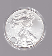 2008 America USA Silver 1 oz Liberty Eagle $1 One Dollar Coin in capsule 1oz -