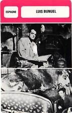 FICHE CINEMA :  LUIS BUNUEL -  Espagne (Biographie/Filmographie)