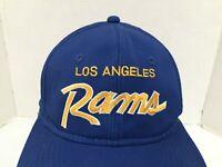 VTG NFL Los Angeles Rams LA Sports Specialties Script Snapback Hat Cap  90's