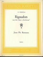 "Jean Ph. Rameau : Rigaudon aus der Oper ""Dardanus"""