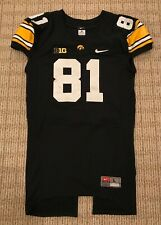 **BOWL CHAMPS**  Iowa Hawkeyes Nike Authentic Game Worn Used Issued Jersey 2012