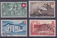 Switzerland 1946 # B154-57 Commemoratives - Used semi-postal set of 4