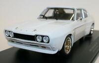 Minichamps 1/18 Scale Diecast Car 155 708500 - 1970 Ford Capri RS 2600 - White