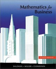 Mathematics for Business (7th Edition)