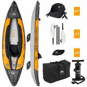 Aqua Marina Memba-330 Inflatable Kajak Aufblasbares Kayak Kanu Boot 1 Personen