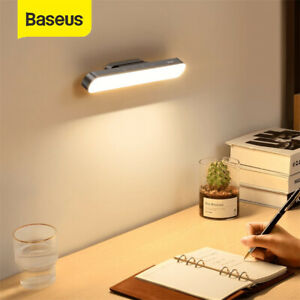 Baseus Magnetic LED Reading Desk Light Dimmable Table Wall Lamp Touch Control