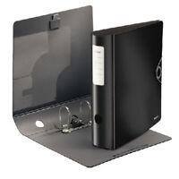 Leitz Ordner Active Solid A4, 82mm, Polyfoam / PP, schwarz, 10471095