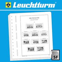 LEUCHTTURM SF-Vordruckblätter Deutsches Reich Saargebiet 1920-1935