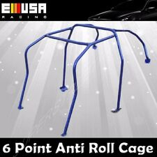 6 Point Anti Roll Cage for 2002-2007 Subaru Impreza BLUE