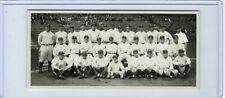 New York Yankees Team 1927 Babe Ruth & Lou Gehrig Autographs on back / Reprint