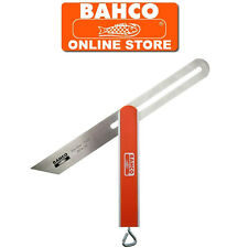 "BAHCO 250mm / 10"" ALUMINIUM SLIDING ADJUSTABLE ANGLE BEVEL WITH STAINLESS BLADE"