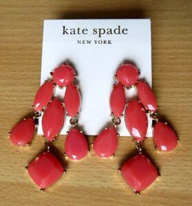 Kate Spade New York Pink Stone Earrings