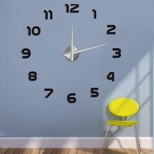Design 2 Wanduhr 100 cm 3 D XXL Uhr Moderne Selbst gestaltbare Do-it-yourself