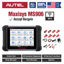 Autel MaxiSys MS906 OBD2 Scanner Tablet All System Diagnostic Tool Active Test