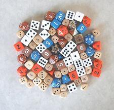 3 Pounds of Random RPG D&D Dice! Bulk, assorted die lot.