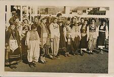 TIRANA c. 1937 - Jeunes Enfants Costumes Traditionnels Albanie - P 1367