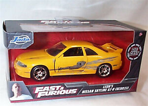 Fast and Furious Leon's Nissan Skyline GT-R BCNR33 1:32 Jada 99515 RB