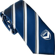 A-League Melbourne Victory Tie Microfibre embroided logo Free Shipping