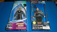 "Star Trek Playmates 9"" Doll  LOT of 2 Jem'Hadar Talosian Romulan Commander"