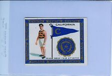 1909-10 T51 California Bears MURAD Tobacco College Series Card Track & Field