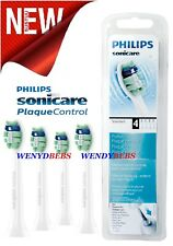 4 ORIGINAL PHILIPS SONICARE PRORESULTS HX9024/30 PLAQUE CONTROL TOOTHBRUSH HEADS