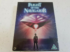 Flight of the Navigator  Limited Edition    (Blu Ray + Book)    New! OOP