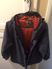 Oakley Mens Ski/Snowboard Jacket - Blueish Gray + Orange - Heavy Duty - Size M