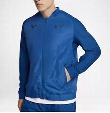 Nike Tennis Rafa Nadal Jacket Blue Black 856465-433 Mens Size XL NWT $150