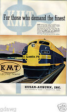 1955 PAPER AD KMT Toy Electric Train Set O HO Gauge Duo Trac Traction Tread