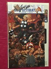 ULTIMATE COMICS NEW ULTIMATES 1 Signed Jeph Loeb Thor Capt America Avengers Cho