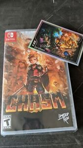 Chasm Nintendo Switch limited run games #085 NEW
