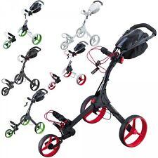 Big Max IQ+ Golftrolley - neues Modell - Farbe: schwarz - rot , Neu!